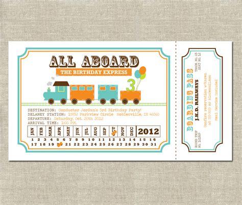 printable bus ticket template kara s party ideas invitation celebration target amazon