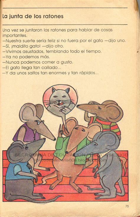 libro historias de ratones libros de primaria de los 80 s la junta de los ratones mi libro de segundo lecturas