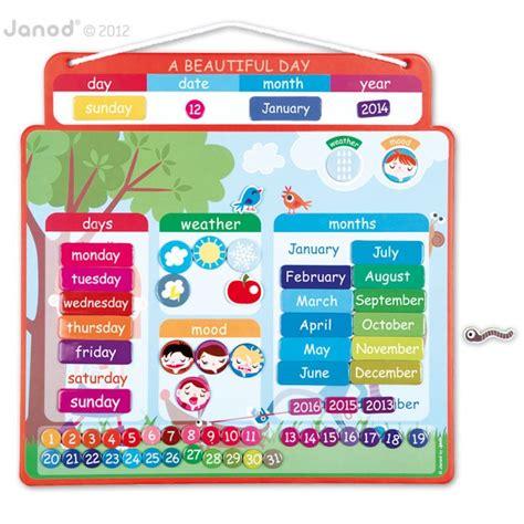 Janod Magnetic Calendar janod magnetische kalender abracadabois