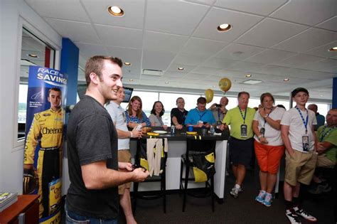 dillon dyer wins trip on today show nascar and general mills a taste of general mills