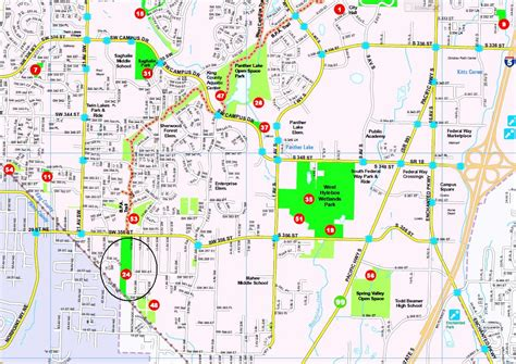 seattle map federal way madrona park federal way parks recreation