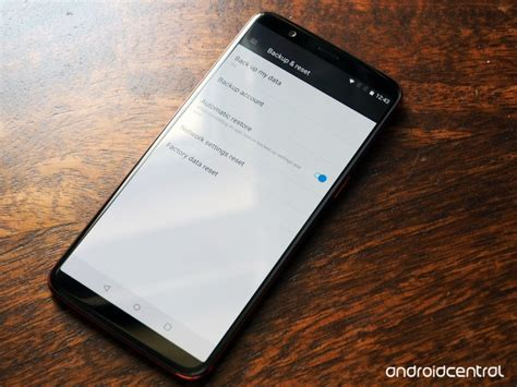 how to wipe an android phone how to factory reset an android phone android central