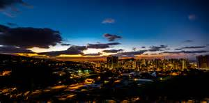 honolulu lights honolulu city lights flickr photo