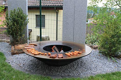feuerschalen garten design feuerschalen grill loungefire by a s design