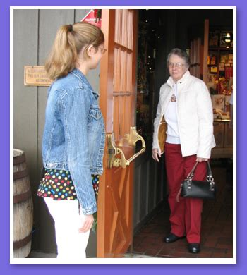 Holding Door by Pay It Forward Promote Faith In Humanity Casa Of