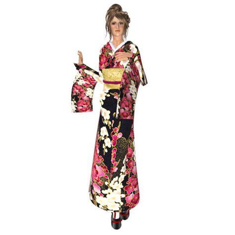 Akina Kimono kimono black onsen akina s closet page 2