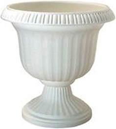 2 southern patio uu1906wht 19 quot utopia white plastic urn
