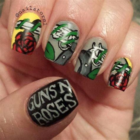 Guns N Roses Nail