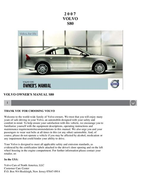 service manual 2005 volvo s80 service manual free printable volvo haynes shop manual uk