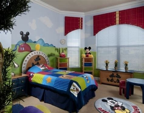 mickey mouse clubhouse bedroom bryson parker mickey room ideas design dazzle