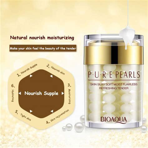 Bioaqua Pearls Lotion Anti Aging bioaqua krim wajah pearl anti aging 60g golden