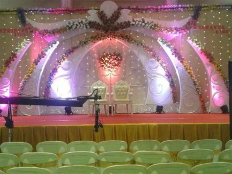 Wedding Stage Decoration in Iyer Bungalow, Madurai   ID