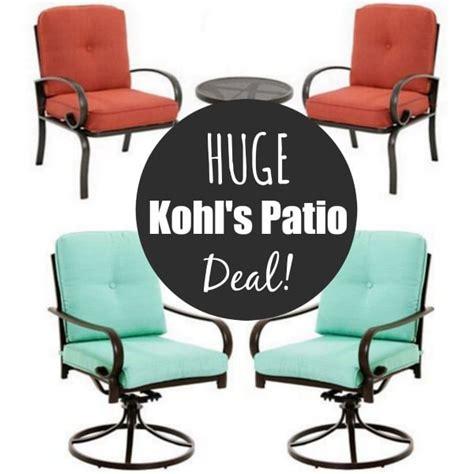 Kohls Patio Furniture Sets Kohl S Sonoma Patio Furniture Sets From 169 Kasey Trenum