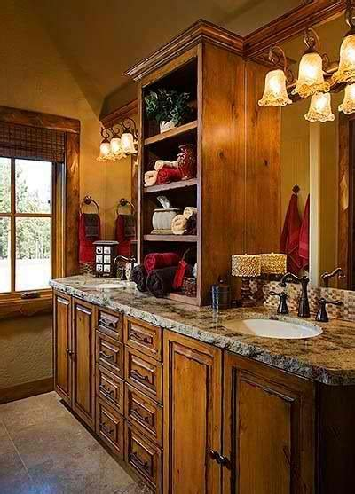 log cabin interiors photo gallery michigan cedar 1000 ideas about log cabin bathrooms on pinterest cabin