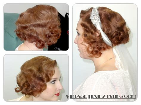 Vintage Wedding Hair Tutorial by Hair Fixes For A Deco Bobby Pin