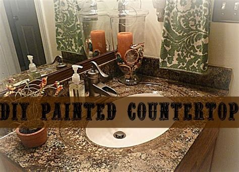 Diy Painting Countertops by Diy Painted Countertops Using Giani Granite Paint Kit Review Dyi Ideas