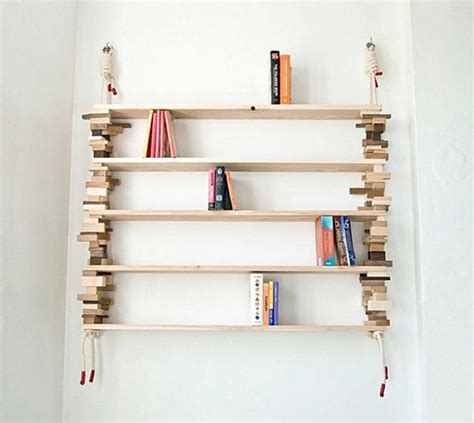 organize your space with diy bookshelves