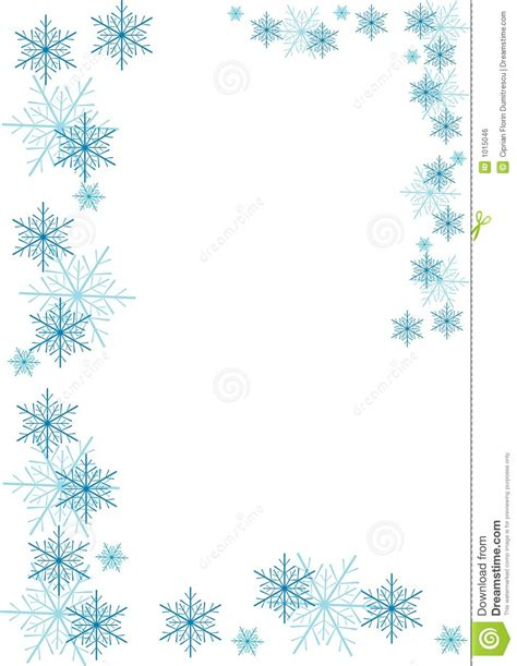 snowflake border clipart for free 101 clip art