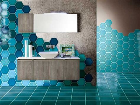 Carrelage Salle De Bain Bleu 2820 by Carrelage Mosaique Bleu Turquoise Obasinc