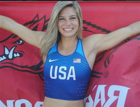 hot female us olympians u s olympic track and field pole vaulter lexi weeks