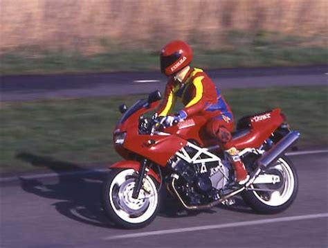Motorrad Gabel Zu Weich by Yamaha Trx850 Von 1995 Fahrbericht Von Winni Scheibe
