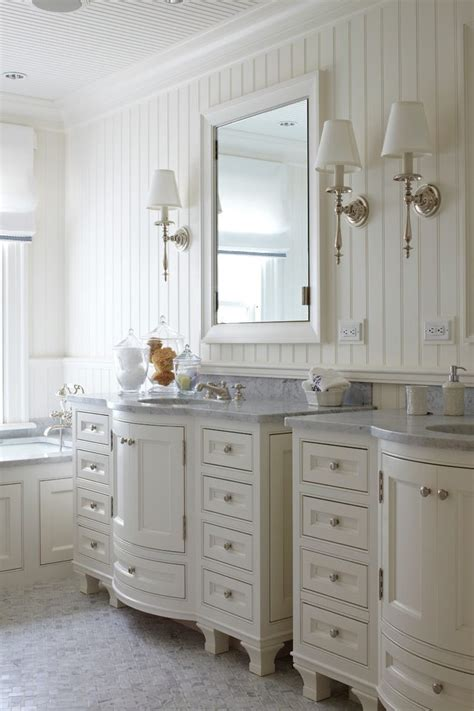 floor to ceiling beadboard beadboard floor to ceiling powder room traditional with