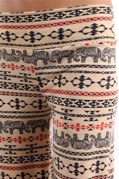 tribal pattern jeans pants yoga pants elephants tribal pattern wheretoget