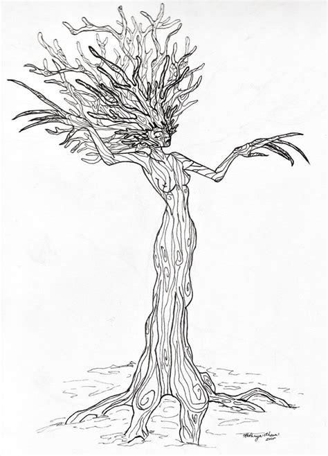 tree woman by littlecherub512 on deviantart