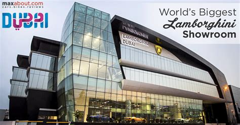 Lamborghini opens its World?s Biggest Showroom in Dubai