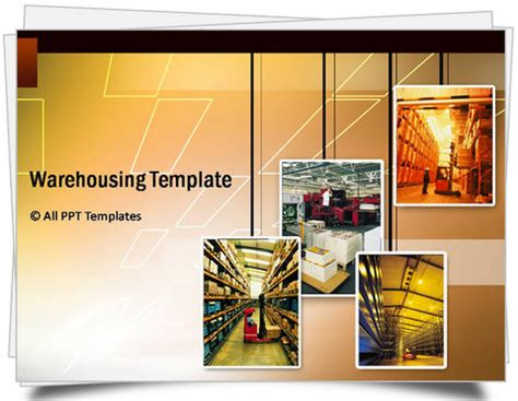 warehouse layout and design ppt powerpoint logistics templates