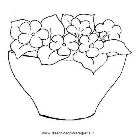 cerco immagini di fiori disegno primule 01 categoria natura da colorare