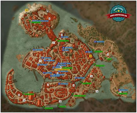 golden sturgeon witcher 3 map the witcher 3 where can i find the blacksmith from