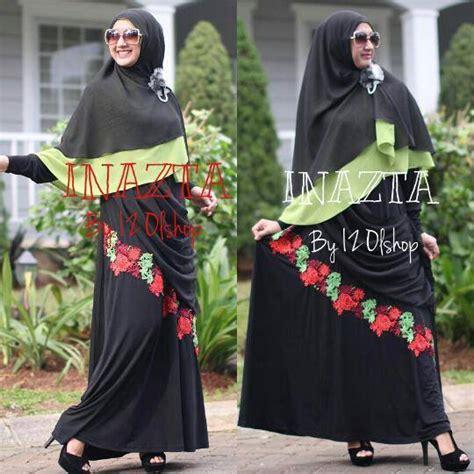 St Kulot Bunga Cantik Tosca baju muslim gaya january 2015