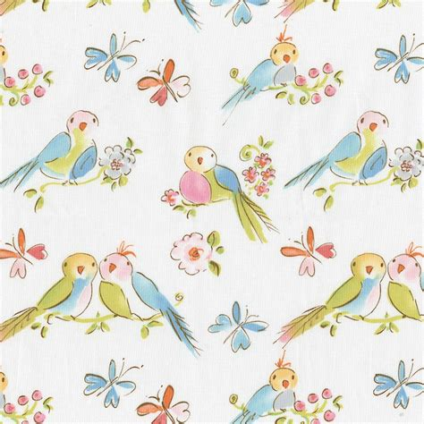 bird fabric curtains love birds fabric collection carousel designs