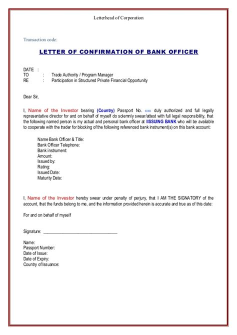 Letterhead Bank Account Renee Iboe Compliance Pack Kyc 2015