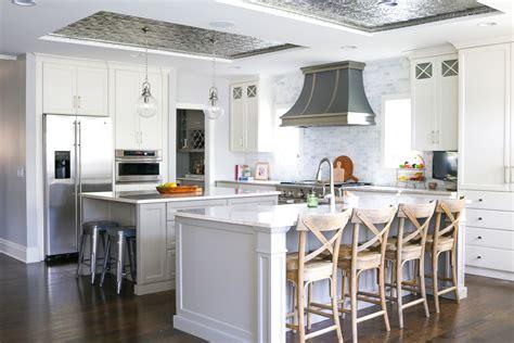 Tin Kitchen by Kitchen Trend Tin Ceiling Tiles So Chic