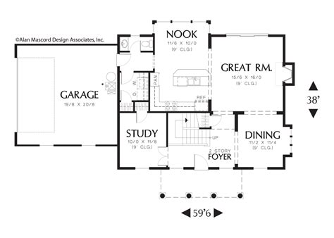 home plan designs judson wallace craftsman house plan 2166 the wallace 1980 sqft 3