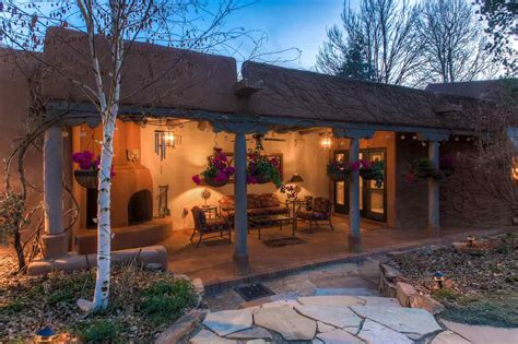Corrales Post Office by 1303 Camino Corrales A Luxury Home For Sale In Santa Fe