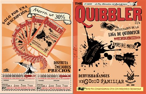 printable quibbler the spanish quibbler cover prop by i never stop on deviantart