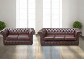 chesterfield brown leather sofa wearing corner unit stunning sofas designersofas4u