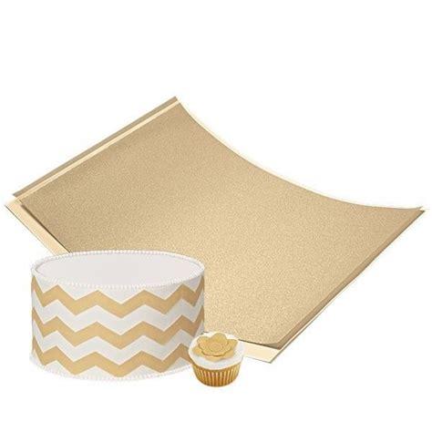 How To Make Sugar Sheets Edible Decorating Paper - gold shimmer sugar sheet edible decorating paper wilton