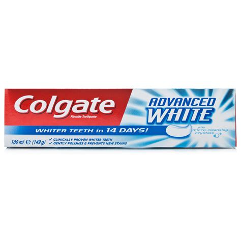 Toothpaste Whitening | colgate advanced whitening toothpaste toiletries 163 1 09