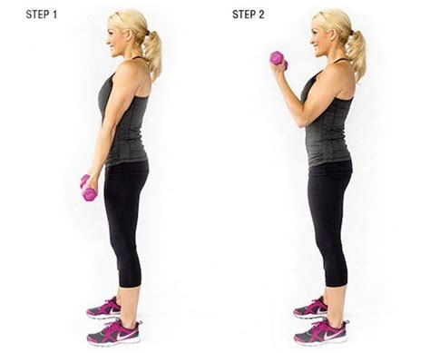 Bicep Free Weight 196 best health fitness images on exercises
