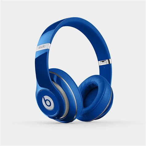 Headphone Beat Studio beats studio 2 0 wired ear headphone blue electronics