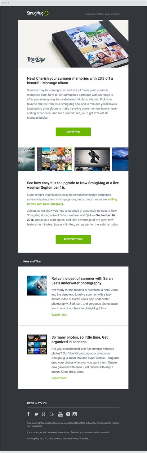 email layout php email design chris olson