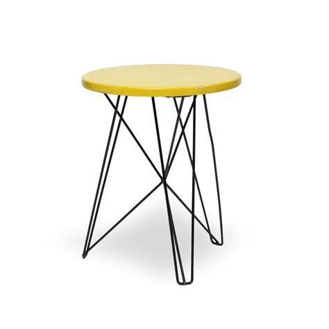 Constant Stool Movement by Ijhorst Side Table Stool Design Constant Nieuwenhuys 1953