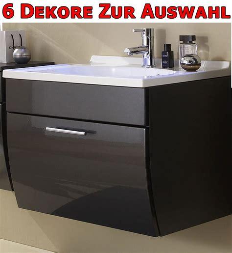 badezimmer waschbecken mit schrank waschplatz mit waschbecken schrank hochglanz anthrazit