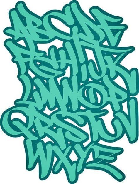 graffiti  wildstyle green bubble graffiti letter