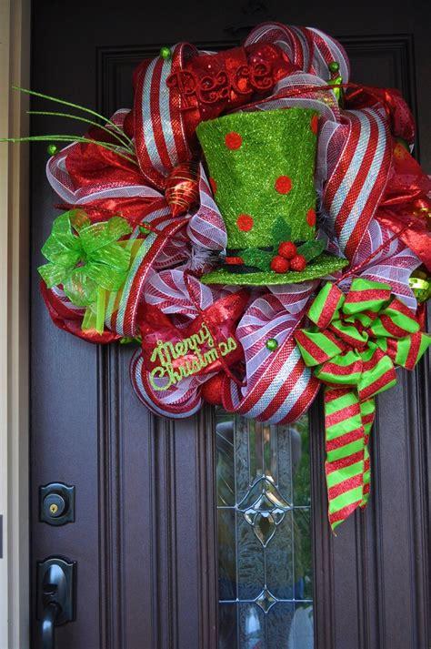 Raz Decor Christmas Wreath Deco Mesh Wreath Wreath Raz Raz
