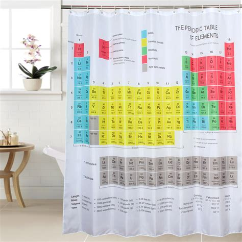 periodic table shower curtain big bang theory online buy wholesale spirella shower curtain from china